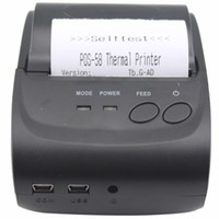 Wholesale Mini Portable Bluetooth Thermal Printer Inch Thermal Receipt Printer mm Bluetooth for Andriod POS System