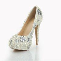 Cheap Pumps Heel Wedding Shoes Best Pearls Wedding Shoes