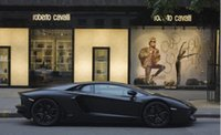 Wholesale Wall Poster Decal for Wedding Festival Home Decoration aventador lp700 black matte street shop Poster For Rooms Party