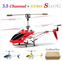 3ch helicopter - 2PCS Original SYMA S107G Helicopter CH Remote Control Helicopter Metal S107 With GYRO R C Helicopter Rad