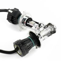 Wholesale 2Pcs HID xenon bulb lamp W Bi Xenon Hi Lo Beam Car Headlight Light Lamp H4 H4 K