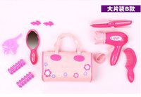 Wholesale New Coming Pretend Play Makeup Dressing Toy for Girl Plastic Cute Play sets Makeup Toy Great Gift for Kid