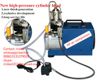 air pressure cylinder - 4500psi mini Portable pcp air compressor bar high pressure air pump for L cylinder