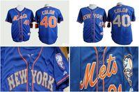 best colon - 30 Teams Best Quality ny New York Mets Bartolo Colon Navy Blue Baseball Jersey men s stitching Shirt