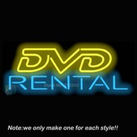 bar rentals - DVD Rental Neon Sign Beer Bar Pub Recreation Room Garage Windows Sign Neon Signs Store Display Advertising Great Gifts x13