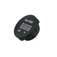 Wholesale LED Display Car Digital Voltmeter Electric Voltage Meter Monitor Socket for Automobile Motorcycle Truck Minibus for ATV Boat