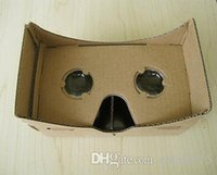 antique type mirror - Hot Google Cardboard Virtual Reality D Glasses Storm Mirror DIY Kit New