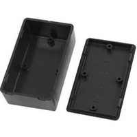 Wholesale 5x New x60x25mm Plastic Electronic Project Box Black DIY Enclosure Instrument Case Electrical Supplies
