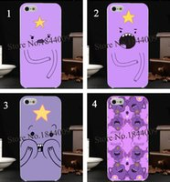 adventure time case - 4pcs Adventure Time Lumpy Space Princess Hard Skin transparent stealth Case Cover for iPhone s s c