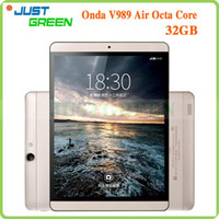 Cheap Under $200 Android Tablet PC Best V989 Air Octa Core Android 4.4 Tablet PC