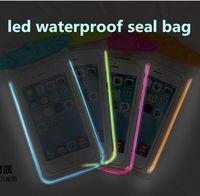 Cheap LED Luminous Best waterproof bag