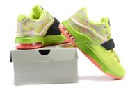 Wholesale Kd7 VII Kevin Durant Glow In Dark Flight Pack Basketball Shoes What The KD Retro QS kds Sport Men Boost Swoosh Tick