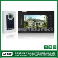 Wholesale Wired video intercom doorbell doorbell manufacturers villa for electronic doorbell inch wired video intercom