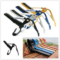 bear clamp - 2015 Hot Sales Folk Acoustic Electric Tune Quick Change Trigger Guitar Capo Key Clamp