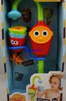 baby bath shower spray - Baby Bath Toys Set Water taps Shower music spray shower Folding spray showers toddler educational toys gift