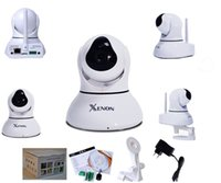 al por mayor cámara grande de la casa barato-Inicio seguridad robot stype inalámbrico p2p 720p panorámica tilt barato wifi cámara ip cctv uso interior