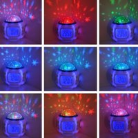 projector lamp - Sky Star Night Light Projector Lamp Alarm Clock W music x10 cm quot x4 quot Bed Lazy Digital Alarm Clock Creative Mini Children s Gifts
