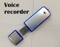 Wholesale 8GB USB flash memory drive digital voice recorder hidden recorder with U disk function pc up
