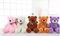 Wholesale 2016 New Arriving Giant CM inch TEDDY BEAR PLUSH HUGE SOFT TOY m Plush Toys Valentine s Day gift Birthday gifts
