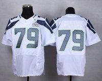 Cheap Super-Bowl Blue White Grey Seahawk #79 Men's Elite American Football Jerseys Stitched Authentic Football Uniforms Cheap Sportswear 002