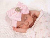 Wholesale Fashion New Baby Hat Girl Boy s Autumn Winter Children Beanies Caps Kid s knitted Hats Cap Bowknot Crochet