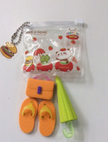 office stationery set - 2015 Stationery Set for Students Office School Supplies Frozen Cases Bag Shoes Schoolbag Umbrella Small Erasers Cheap Selling