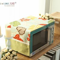 Wholesale New Refrigerator cover cloth cover cloth dust Covers microwave oven coffee table cloth original fabric Pastoral
