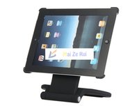 Wholesale Matte Rotatable Bracket stand Holder for iPad iPad2 the new iPad Black