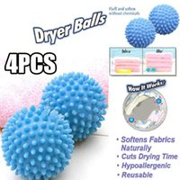 Wholesale New Sale No Chemicals Magical Soften Cloth Drying Washing Laundry Practical Dryer Ball