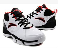 anta sneakers - ANTA new men wear non slip shoes sneakers leather high top basketball shoes running shoes casual shoes