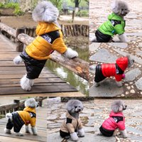 dog coats - 2015 New Arrival Fashion Winter Pet Dog Clothes Thickening Warm Puppy Clothing Dog Jumpsuit Down Coat Of styles