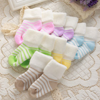 baby odor - Hot selling Cotton baby kids thick warm Soft socks no odor antibacterial warmth children socks for winter
