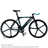 best frame for fixed gear - Fixed Gear Bike adopt Strength Muscle Frame and Magnesium Alloy Integrated Wheels Best Full Bike for Men
