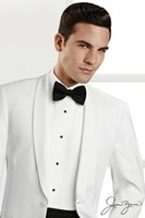 Cheap White Groom Tuxedos Best White Wedding Suits for Men