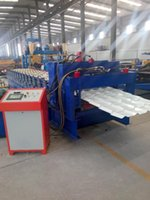 Wholesale 840 glazed tile double layer roofing sheet roll forming machine