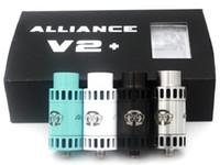big post - Alliance V2 RDA Kit mm Diameter Rebuidable Dripping Atomizer Clone DIY Post Deck Big Drip Tip Drop Tank DHL Free ATB450