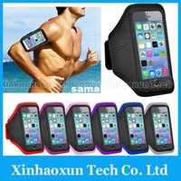 Wholesale High Quality Running Sport Armband for iPhone S S C Solf Belt Jogging Arm Band Mobile Phone Premium Armband