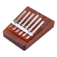 Wholesale Solid Rosewood Key Mbira Finger Thumb Piano Education Toy Musical Instrument for Music Lover and Beginner