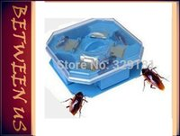 baits motel - Reusable Non Toxic Eco Cockroach Bug Roach Motel Catcher Catch Insect Pest Killer Bait Trap Traps