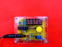 Wholesale DIY Kits Hz MHz Crystal Oscillator Tester Frequency Counter Meter Case