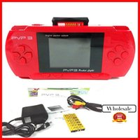 Wholesale New PVP3 PVP pocket Game Console bit video games player with many games handheld Free Game card