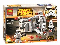 Wholesale bela STAR WARS Royal Army transport aircraft Clone troops building blocks bricks toys children gift Compatible With