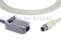 al por mayor fotos-Welch Allyn 7pins Extensión del sensor SpO2 Cable adaptador para Desfibrilador PIC, Compatible 001966-E