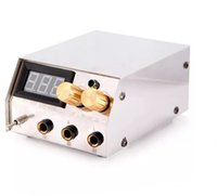 Wholesale Professional Stainless Steel Dual Digital LCD Tattoo Power Supply