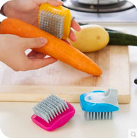 Wholesale kitchen cleaning brush not to hurt the fruits and vegetables fruit potato radish cleaning brush
