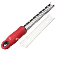Wholesale New Arrvial Stainless Steel Cheese Grater Slicer Slices Parmesan Chocolate Plane Zester