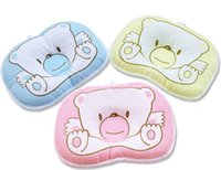 Wholesale New Promotion Hot Sale Baby Pillow Little Bear Newborn Shape Pillow Baby Accessories Cotton colors