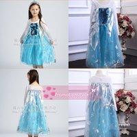 Cheap TuTu frozen girls dresses Best Summer A-Line cheap girls dresses
