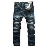 name brand jeans - fashion mens true branded jeans male jens print retro denim pants men s name brand trousers