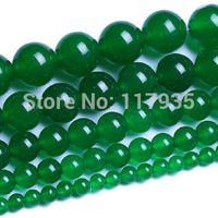 beryl beads - mm Green Beryl agate Round Loose Beads jewelry making